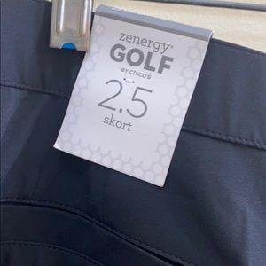 Zenergy by Chico's 2.5 golf skort